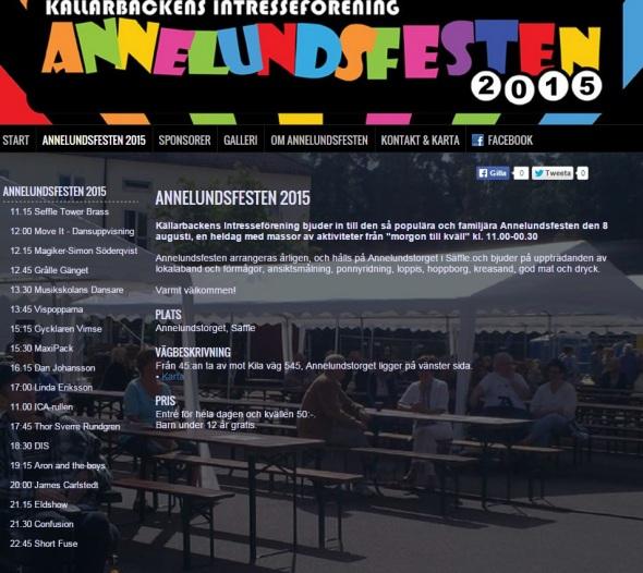 Annelundsfesten 2015